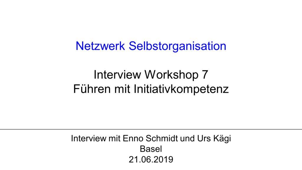 V1 Workshop 7: Führen mit Initiativkompetenz
