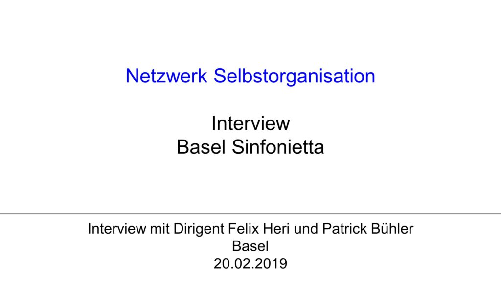 V1 Interview: Basel Sinfonietta